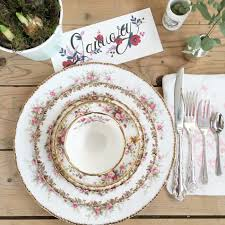 vintage china party in a teacup vintage china hire kent