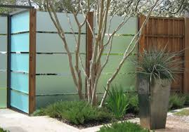 praiseworthy model of privacy fence ideas for backyard design of