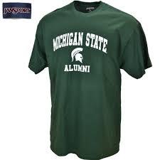 alumni tshirt michigan state apparel michigan state clothing msu