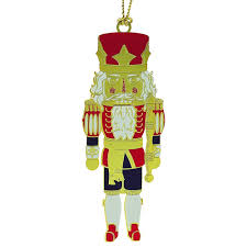 classic nutcracker christmas ornament handcrafted in the usa item
