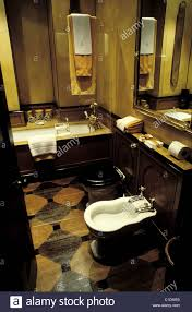 united kingdom london bathroom in the blake hotel stock photo