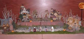 setting up a boyds bear village display the enchanted manor