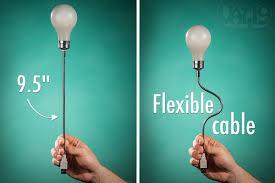 battery powered light bulb socket usb lightbulb laptop l with flexible arm