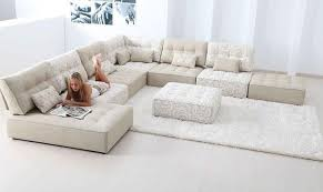 Extra Large Sectional Sofas With Chaise Sofa Beds Design Glamorous Modern Large Fabric Sectional Sofas