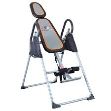 inversion table for neck pain fitness club inversion table deluxe therapy fitness back relief
