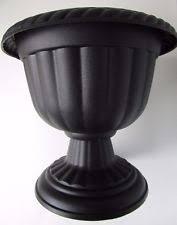 plastic urn planters ebay