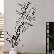 stickers bureau mur d inspiration bureau autocollants arrangement de classe