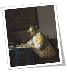 vermeer pearl necklace analysis of a writing or a writing a letter
