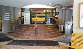 entry vestibule ottawa public library central branch capital modern