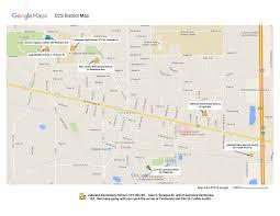 Map Service Center District Map Index