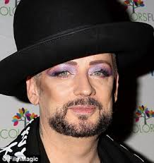 Top Makeup Schools In Nyc Boy George Strips Off Makeup To Show His Bare Face On His 55th