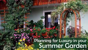 Summer Garden Ideas - planning for luxury in your summer garden dot com women