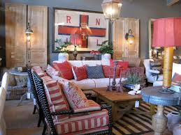 Red White And Blue Decoration Ideas  Patriotic Decoration Ideas - Red and blue living room decor