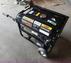 cummins 6 500 watt generator item ac9993 sold july 24 v