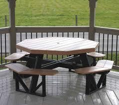 amish poly octagon picnic table picnic tables picnics and