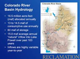 Lower Colorado Water Supply Outlook January 1 2016 On The Colorado Resources