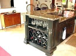 kitchen island with wine storage kitchen islands with wine rack amazing kitchen with white