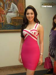 tamanna bhatia looks stunningly in pink skirt 42