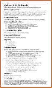 Makeup Artist Resume Sample by Artist Cv Resume Template Corpedo Com