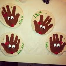 salt dough handprints santa and rudolph made by jaime schultz