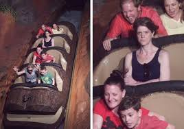 Angry Mom Meme - angry splash mountain lady woman says husband refused to go on
