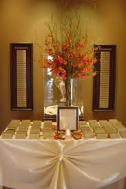 Gold Entry Table Escort Card Table Display Entry Table Display Weddingbee Photo