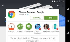 chrome for android chrome for android hits 1 billion installs on the play store
