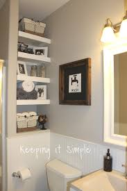 keeping it simple bathroom makeover with timeless touch design