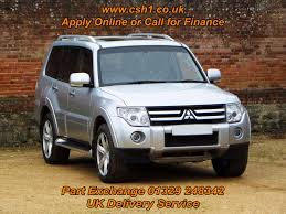 used mitsubishi shogun 2008 for sale motors co uk