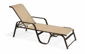 winston key west sling aluminum arm stackable chaise lounge m7229r