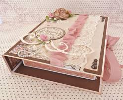 with ribbon a wedding gift box card