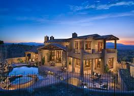Southwestern Homes Custom Southwestern Ranch Style Residence In Fountain Hills