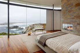 chambre vue mer chambre à coucher chambres coucher design moderne luxe cheminee