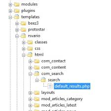 rsvario how do i create a template override