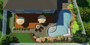 Home Design Software Photo Import 3d Pool And Landscaping Design Software Features Vip3d