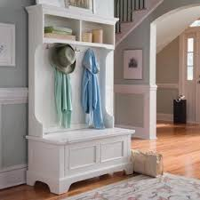 entryway tree with storage foter