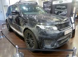 land rover spectre file the frontview of land rover range rover sport svr l494 used