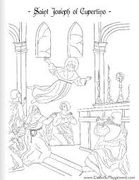 433 saint coloring pages roman catholic liturgical feasts