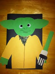 dad card ideas star wars yoda birthday card for dad made by the kids the kids
