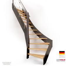 luxholm treppen preise holztreppe luxholm leipzig nußbaum lackiert ab gh 258 cm mit