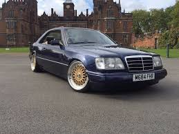 mercedes amg replica mercedes w124 coupe ce 220 amg replica slammed in ward end