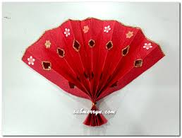 Lunar New Year 2016 Decorations by Diy Chinese New Year Decorations Chinese Fan Home Is Where My