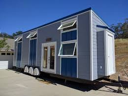 father and son build modern tiny house