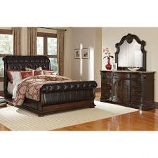 Mahogany Sleigh Bed Bedroom Design Amazing Living Room Furniture Sets Wooden Sleigh
