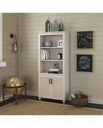 2 Shelf Bookcase With Doors Amazing Deal On Kathy Ireland Office Volcano Dusk Bookcase With Doors