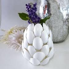 Challenge Vase Home Dzine Craft Ideas Recycled Plastic Spoon Protea Vases