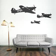 hawker hurricane vinyl wall sticker by oakdene designs hawker hurricane vinyl wall sticker