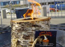 light and go bonfire trust the vikings burn a light n go bonfire log this memorial day
