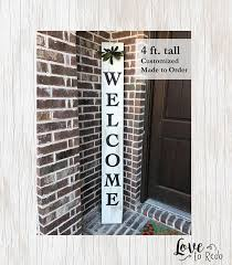 Outdoor Decorative Signs 18 Best Reclaimed Wood Welcome Porch Signs Images On Pinterest