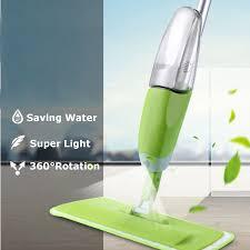 Kitchen Floor Cleaner by 600ml Spray Mop Water Spraying Floor Cleaner Tiles Microfibre